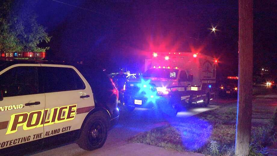 A woman was hospitalized Tuesday evening after her boyfriend pulled out a knife during an argument, according to San Antonio police. Photo: Ken Branca