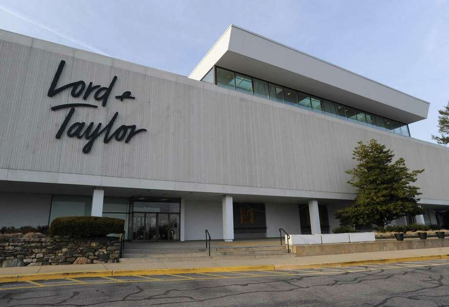An exterior shot of Lord & Taylor in March 2019 in Stamford, Connecticut. On Aug. 28, 2019, Hudson's Bay announced plans to sell Lord & Taylor to the Le Tote online clothing subscription service for $100 million. Photo: Matthew Brown / Hearst Connecticut Media / Stamford Advocate