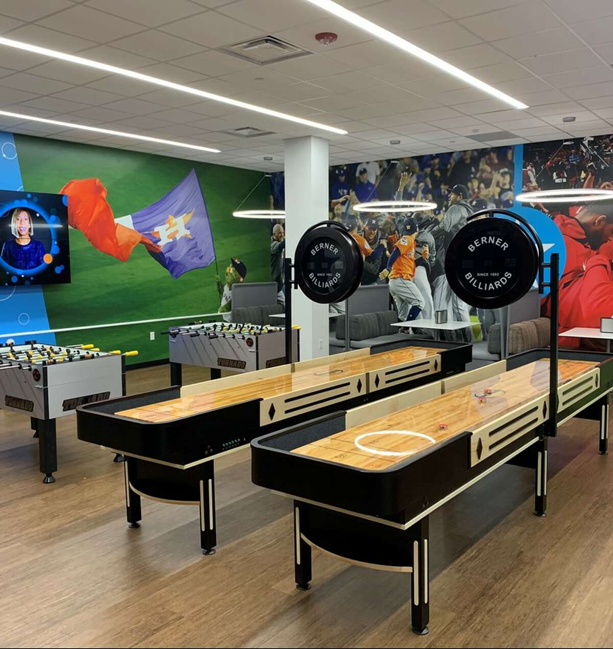 AT&T unveiled its new call center in Alief on Wednesday, Aug. 28, 2019.