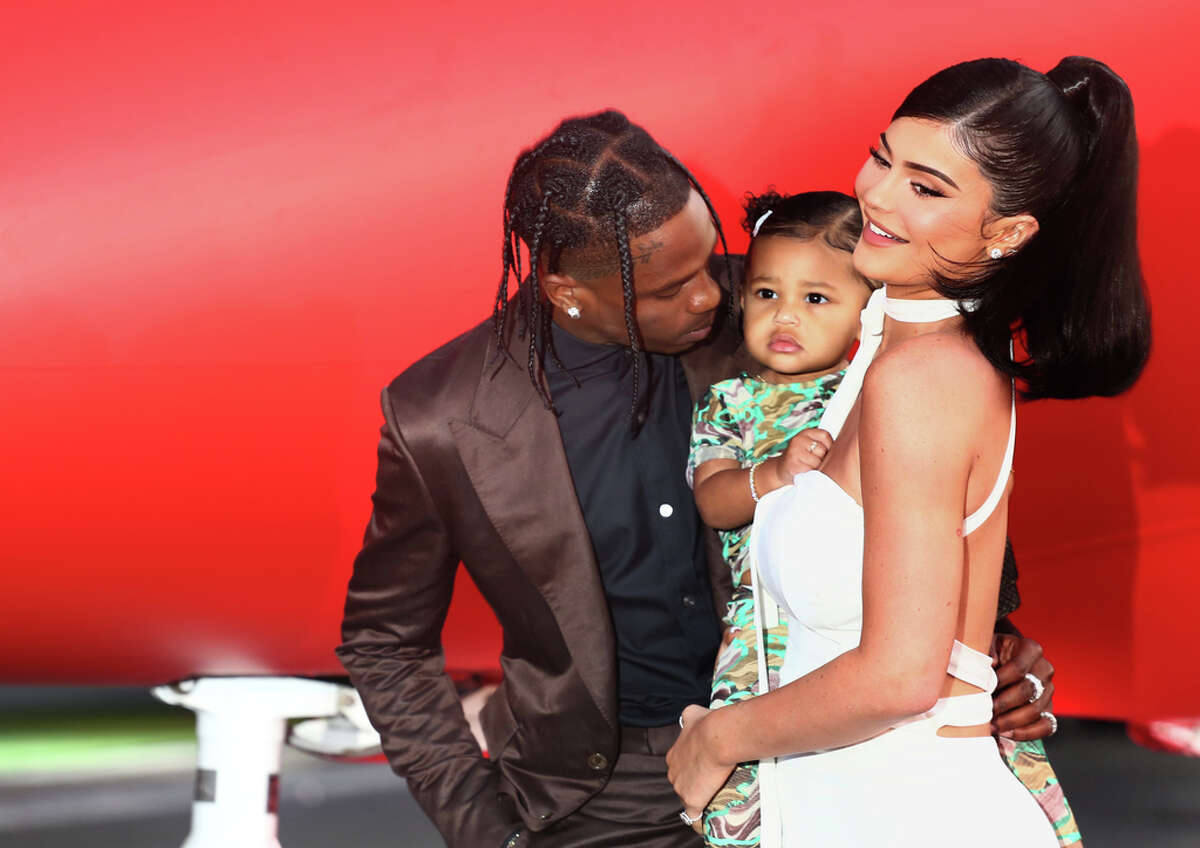 Netflix hosted the premiere of TRAVIS SCOTT: LOOK MOM I CAN FLY at the Barker Hangar in Santa Monica.