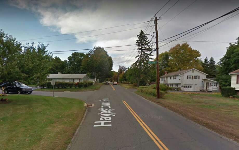 Intersection of Valley Stream Drive and Hayestown Road in Danbury. Photo: Google Maps / Google
