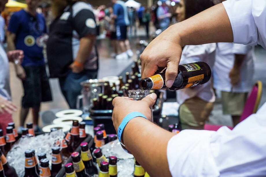 The 2017 BrewMasters Craft Beer Festival will take place Sept. 1-3 in Galveston. The eighth annual festival will feature 400 craft beers, tequila tasting, a pub crawl, and other events aimed at craft beer enthusiasts. Shown: Scenes from BrewMasters. Photo: Courtesy / Courtesy / Photography by Steven David