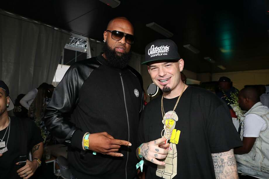 PHOTOS: Which high school did each Houston rapper attend?  Slim Thug (left) and Paul Wall are two legendary Houston rappers who represent the Northside.  Browse through the photos above to find out where all the legendary Houston rappers went to high school ... Photo: Shareif Ziyadat/FilmMagic