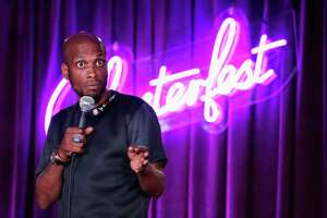Ali Siddiq performs onstage in the Room 415 Comedy Club during Clusterfest at Civic Center Plaza and The Bill Graham Civic Auditorium on June 2, 2018 in San Francisco, California.