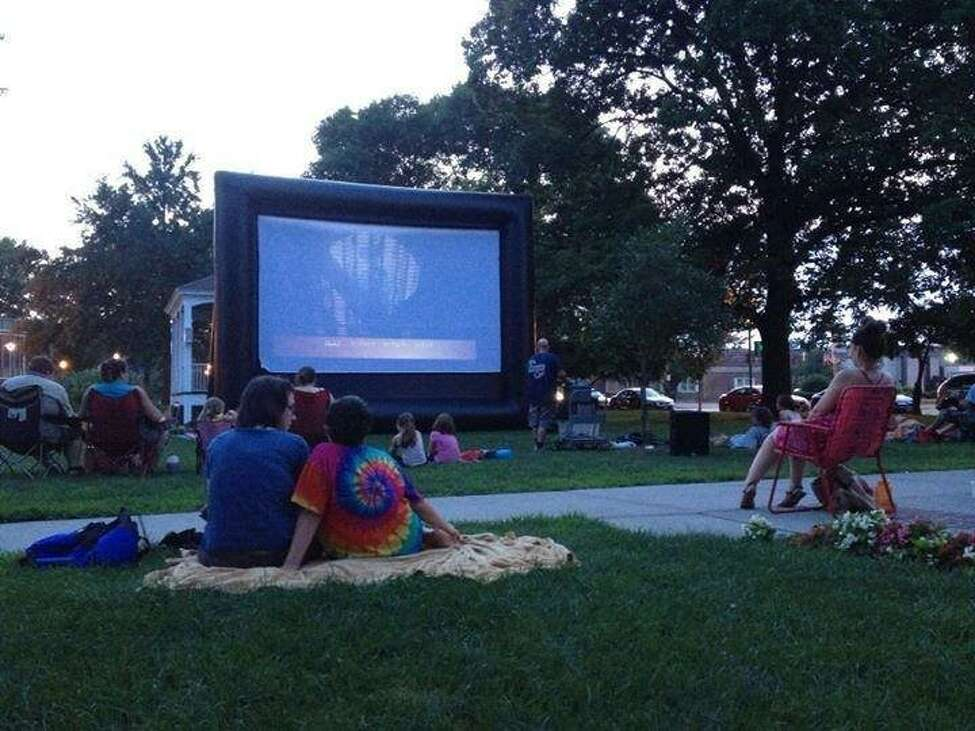 See a movie outdoors.