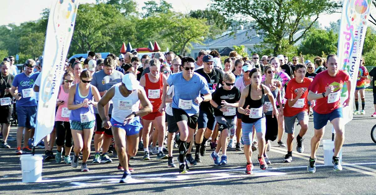 """The Kennedy Center's Autism SpectRUN will take place at Jennings Beach in Fairfield on Sunday, Sept. 8. The family-friendly-event features a kids' fun run at 8:30 a.m. and a timed 5K and mile stroll at 9 a.m., open to all runners, walkers and strollers. Activities will be available for children of all ages and needs, including Casey Carl's Bubblemania, face painting and more. Sisters Kylie and Khloe Hudak of Sandy Hook - also known as """"2 K's for a Cause"""" - will have a fund-raising lemonade stand set up at SpectRUN, offering refreshments before and after the race. Star 99.9's Anna Zap, of The Anna & Raven Show, will be the morning's guest announcer. SpectRUN directly benefits The Kennedy Center's autism services, providing a lifespan of support for individuals and families in Fairfield and New Haven Counties. Event proceeds help offset program costs and provide need-based scholarships. Learn more and register online at KC-Autism.org."""