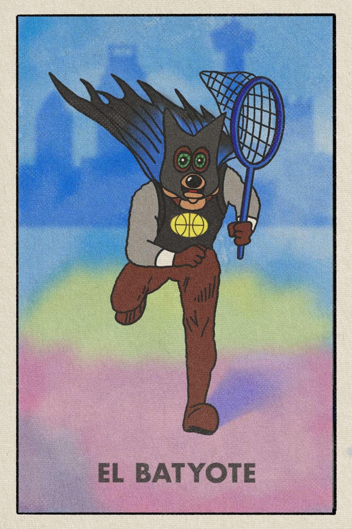 Alternate Spurs mascot