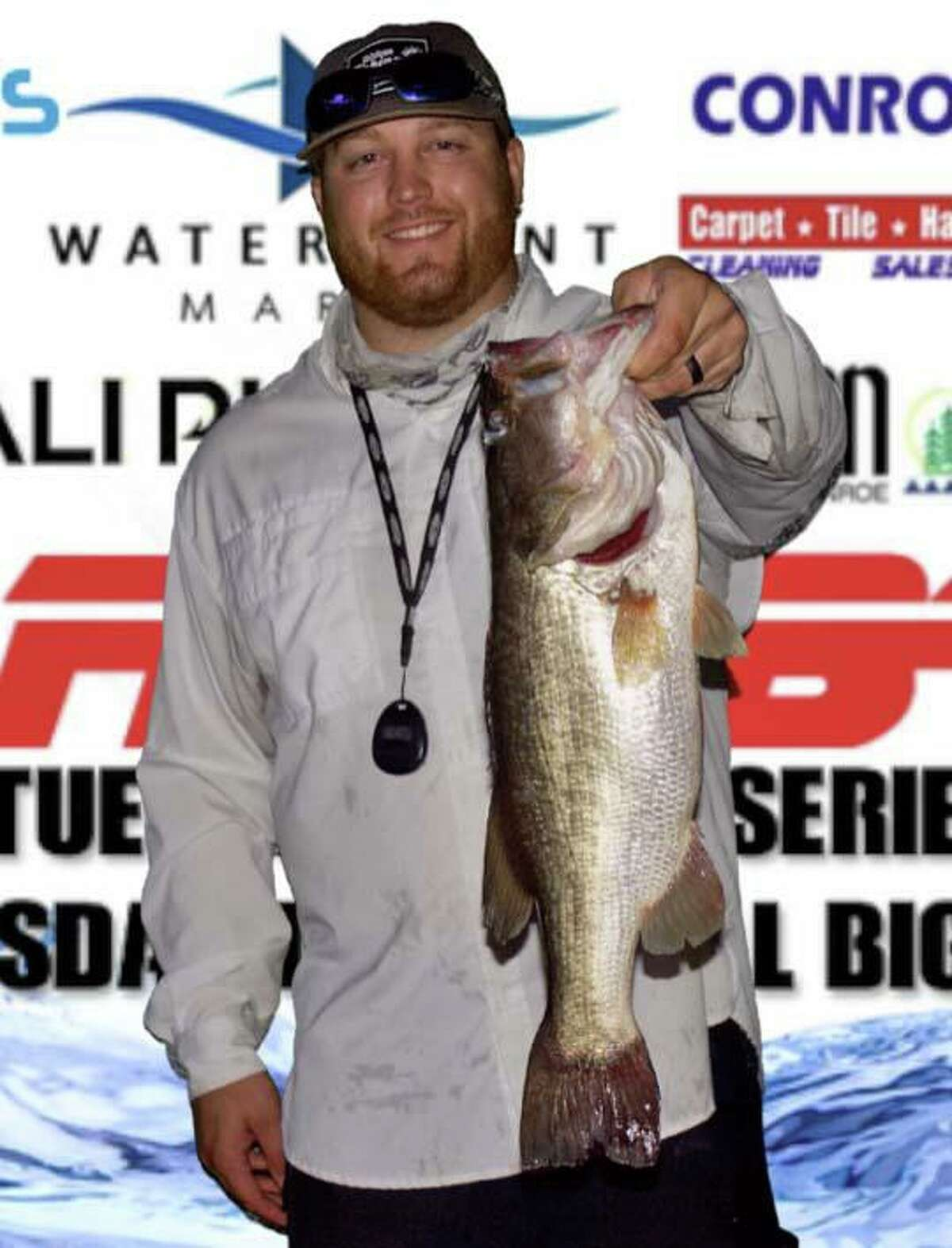 Bo Brown came in first place in the CONROEBASS Thursday Big Bass Tournament with a bass weighing 5.96 pounds.