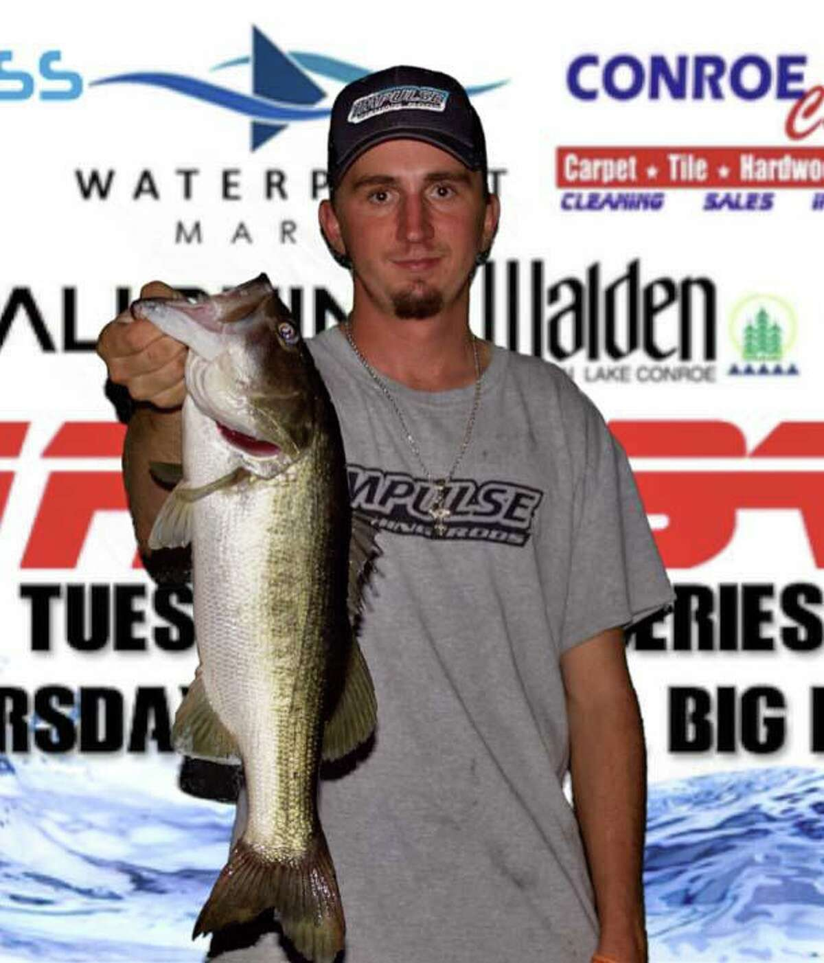 Mason McQuerry came in second in the CONROEBASS Thursday Big Bass Tournament with a bass weighing 4.52 pounds.