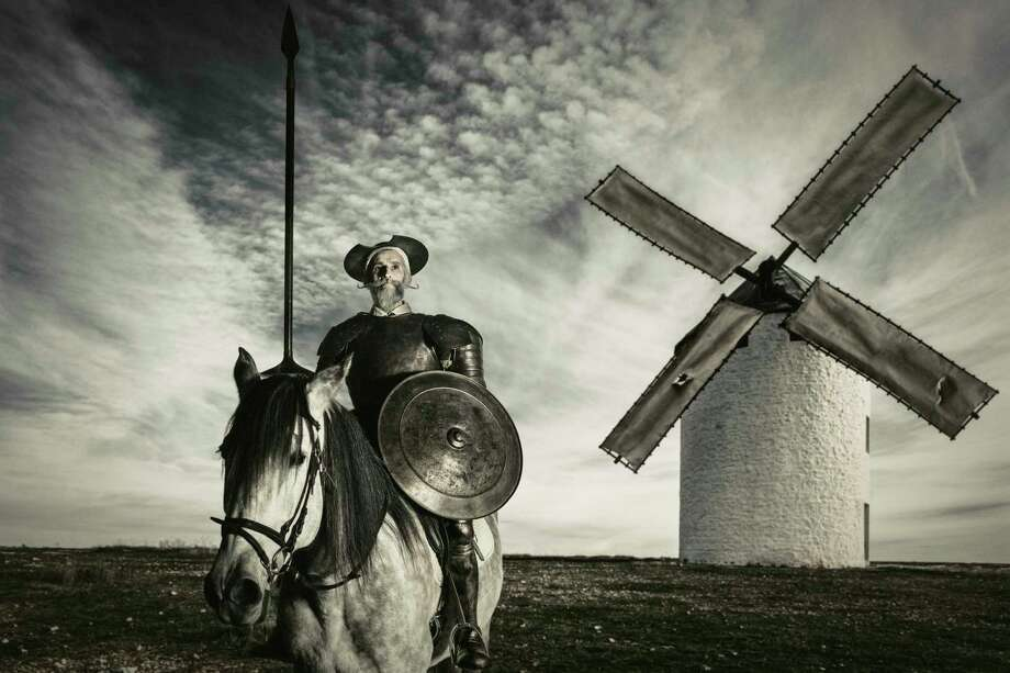Salman Rushdie's Don Quixote character is obsessed with TV. Photo: Aluxum, Contributor / Getty Images / E+