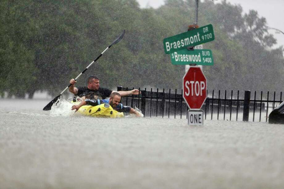 """""""Hurricane Harvey wasn't that bad""""  People who have never lived in the Southeast, particularly on the Gulf Coast or the Atlantic Ocean often have a difficult time wrapping their heads around the terribly destructive power of hurricanes.  In that same vein, some people outside the Houston area have attempted to minimize the financial damage, as well as the human pain and suffering that it wrought.  Making this mistake, even in jest, is highly unlikely to endear you to anyone in or from the city and surrounding areas. Photo: Mark Mulligan/Staff Photographer / Internal"""
