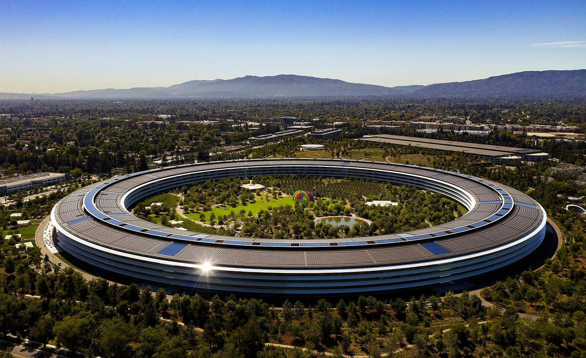 Apple Park corporate headquarters on Tuesday, August 27, 2019 in Cupertino, Calif.