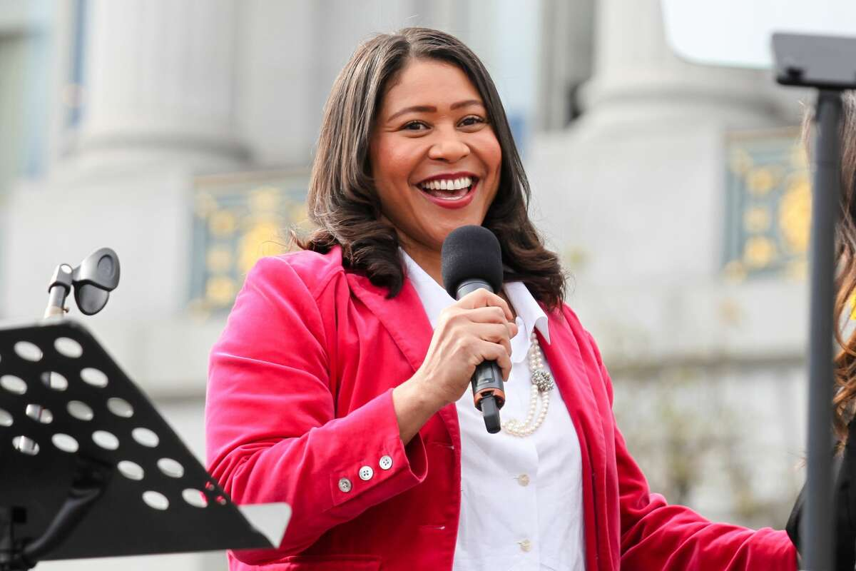 San Francisco Mayor London Breed is up for four more years today.