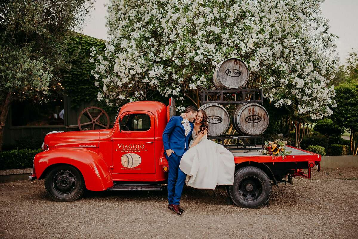 Brittany Vadon-Rodriguez and Jacob Rodriguez were married at Viaggio Estate and Winery, which offers all inclusive wedding packages.