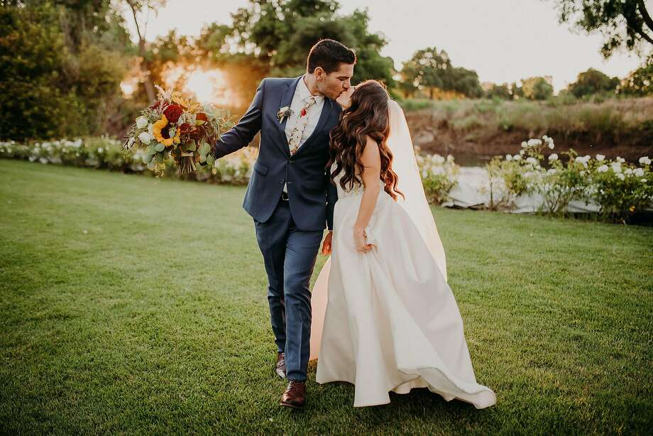 Brittany Vadon-Rodriguez and Jacob Rodriguez were married at Viaggio Estate and Winery, which offers offers all inclusive wedding packages. Photo: Jon And Jess Studio