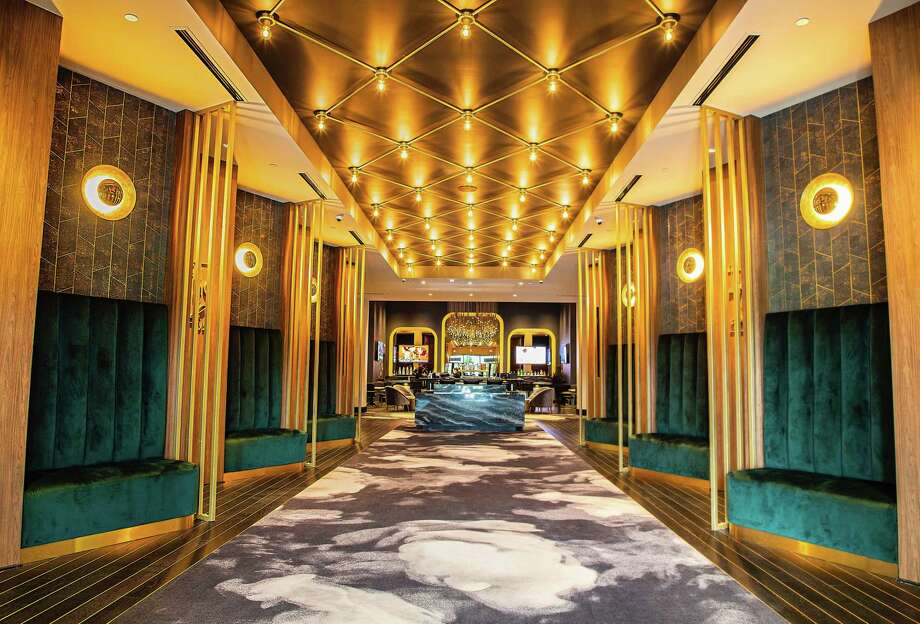 Star Cinema Grill will give its Baybrook Mall location an Old Hollywood ambiance using a palette of green and gray with marble sprinkled throughout. The theater opened four years ago. Photo: Star Cinema Grill