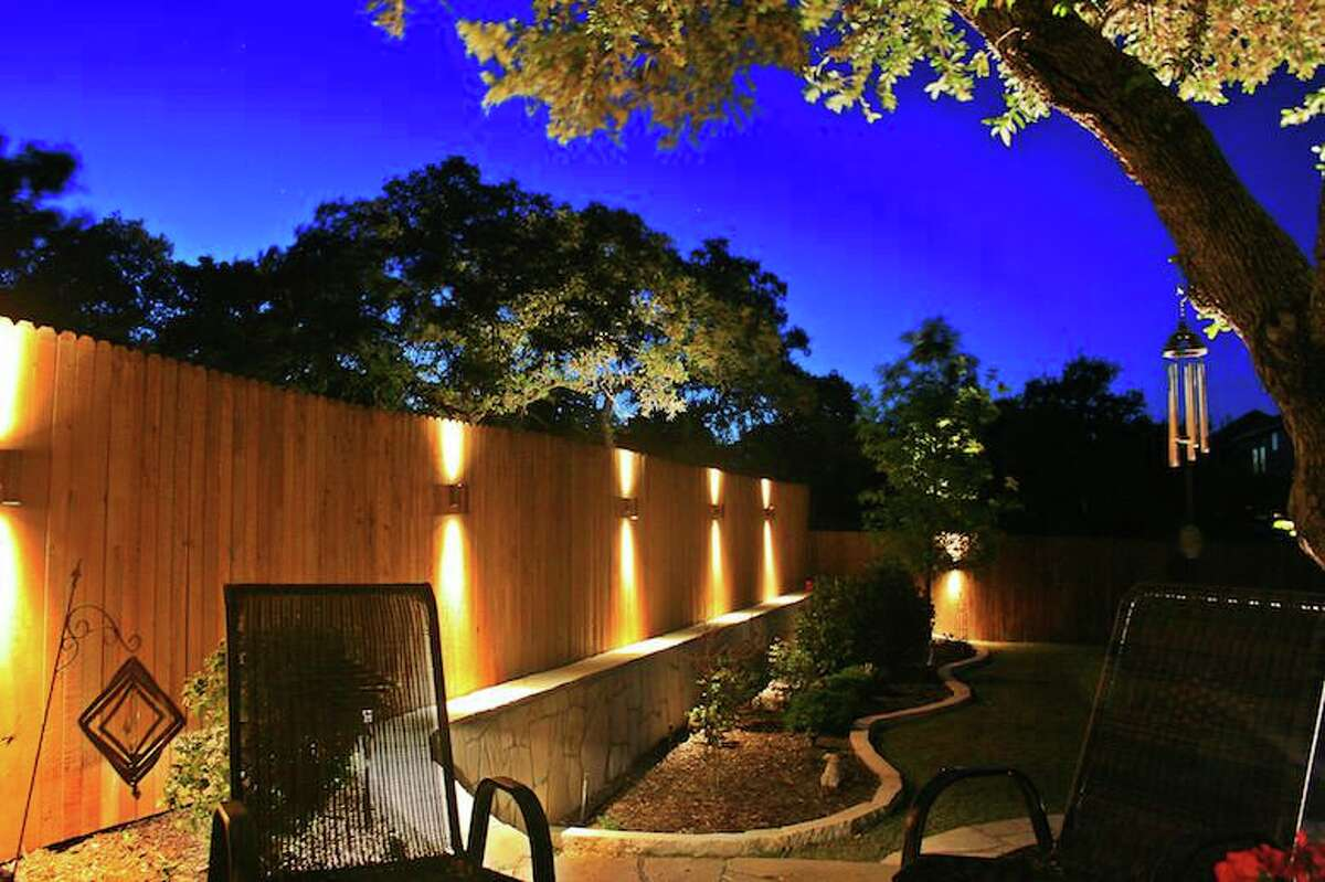 Outdoor lighting can dramatize trees and foliage, wash walls and fence lines with light and spotlight spaces, such as seating areas and tables, so they can be more easily used.