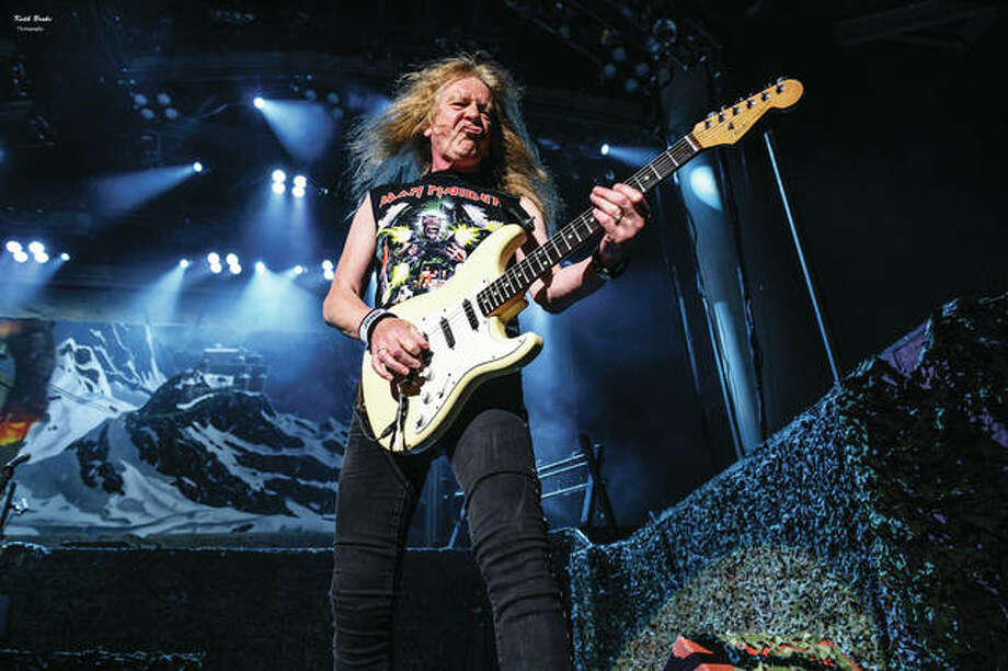 Iron Maiden performs Aug. 24 at Indianapolis' Ruoff Home Mortgage Center for Music. Photo: (Photo Credit Keith Brake Photography/Keith Brake|For The Edge)