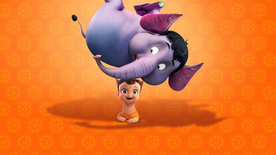 """Mighty Little Bheem"" is an animated series developed in India that has become a hit for Netflix. (Netflix/TNS) Photo: Netflix, TNS"