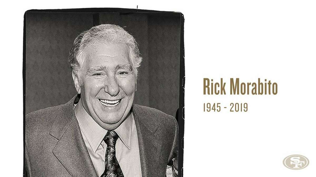 Rick Morabito, the nephew of the founder of the San Francisco 49ers and a front office executive on the team from 1983-1992, has died, the 49ers announced on Wednesday.