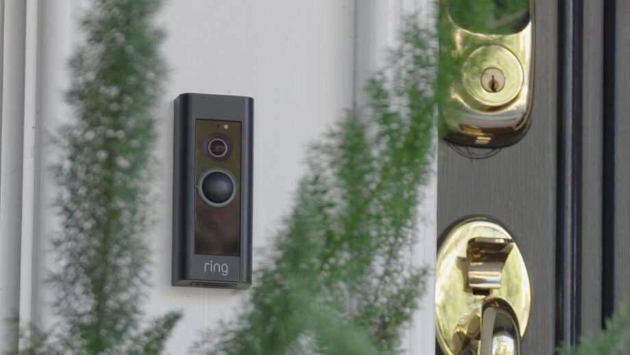 A Ring Pro video doorbell. Photo: Washington Post Photo By James Pace-Cornsilk / The Washington Post
