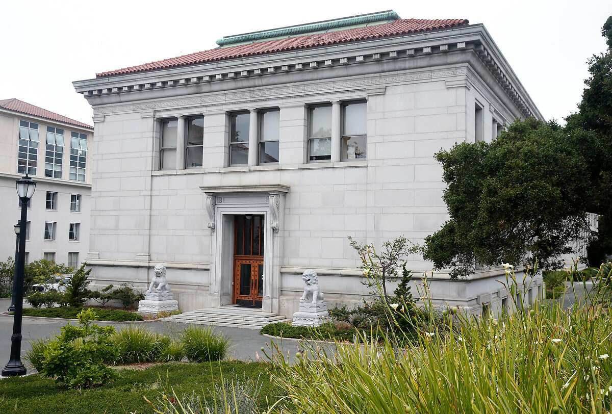 """Durant Hall at UC Berkeley on Wednesday, Aug. 28, 2019. Durant Hall is among six structures that have been rated as """"very poor"""" in a seismic analysis of buildings on the campus."""