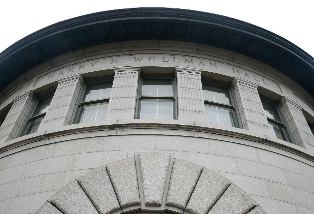 """Wellman Hall at UC Berkeley on Wednesday, Aug. 28, 2019. Wellman Hall is among six structures that have been rated as """"very poor"""" in a seismic analysis of buildings on the campus."""