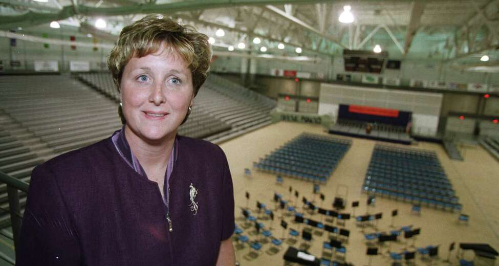Gail Cummings-Danson, interim Athletic Director at UAlbany, in 1999. (Skip Dickstein / Times Union)