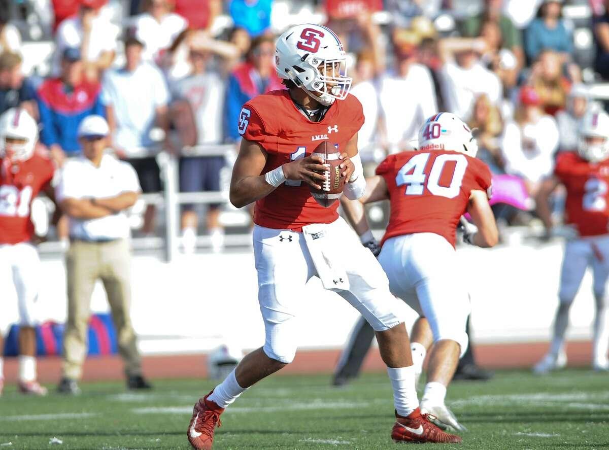 Zack Taylor-Smith will be the quarterback for St. Ignatius this season.