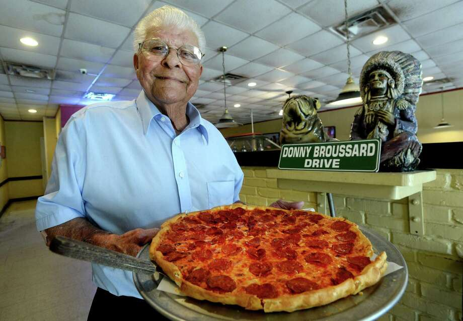 Port Neches Pizza Inn franchise owner Donny Broussard was recently honored with a Pizza Inn corporate award. Broussard has been an active and supportive member of the community and Port Neches-Groves schools throughout his decades' long business. Photo taken Wednesday, August 28, 2019 Kim Brent/The Enterprise Photo: Kim Brent / The Enterprise / BEN