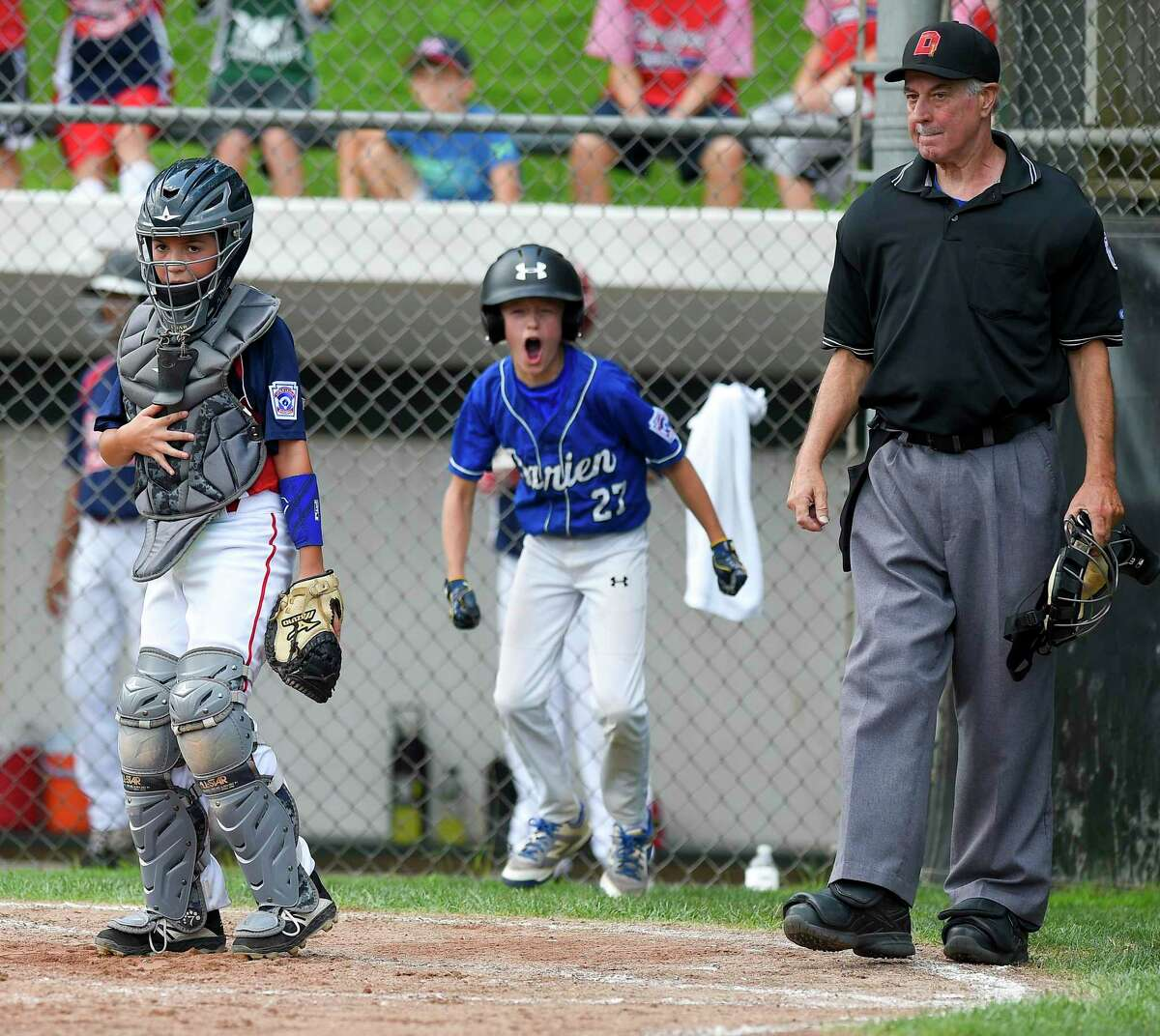 Darien defeated Stamford North 12-2 (5 innings) in the District 1 Little League championship game at Drotar Park in Stamford, Conn. on July 13, 2019.