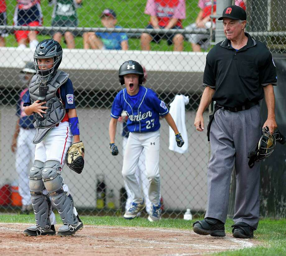 Darien defeated Stamford North 12-2 (5 innings) in the District 1 Little League championship game at Drotar Park in Stamford, Conn. on July 13, 2019. Photo: Matthew Brown / Hearst Connecticut Media / Stamford Advocate