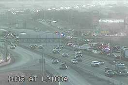 A major accident has caused a traffic delay on a major highway on the Northeast Side of San Antonio Thursday morning, according Texas Department of Transportation's website.