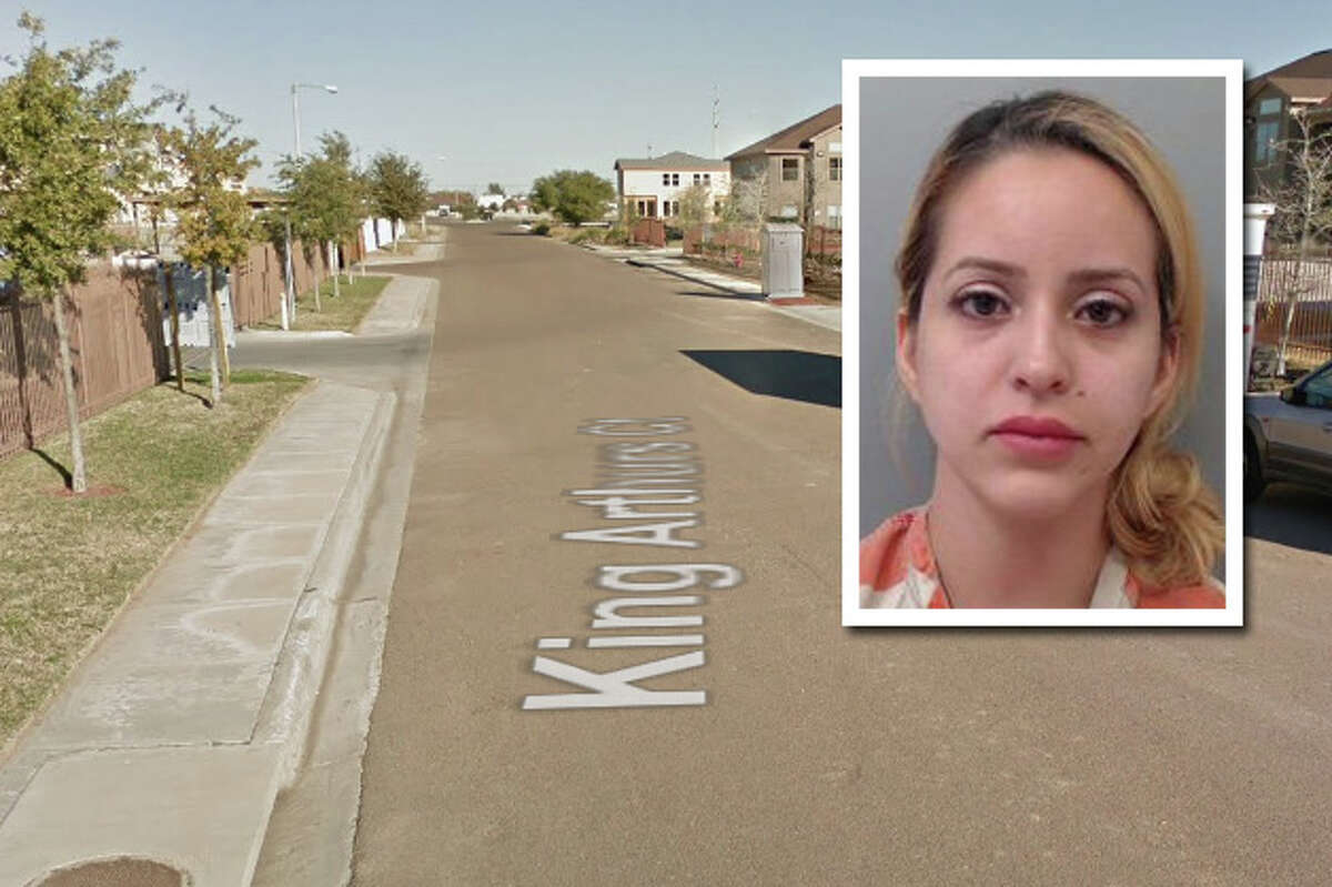 A woman was arrested for allegedly assaulting her boyfriend.