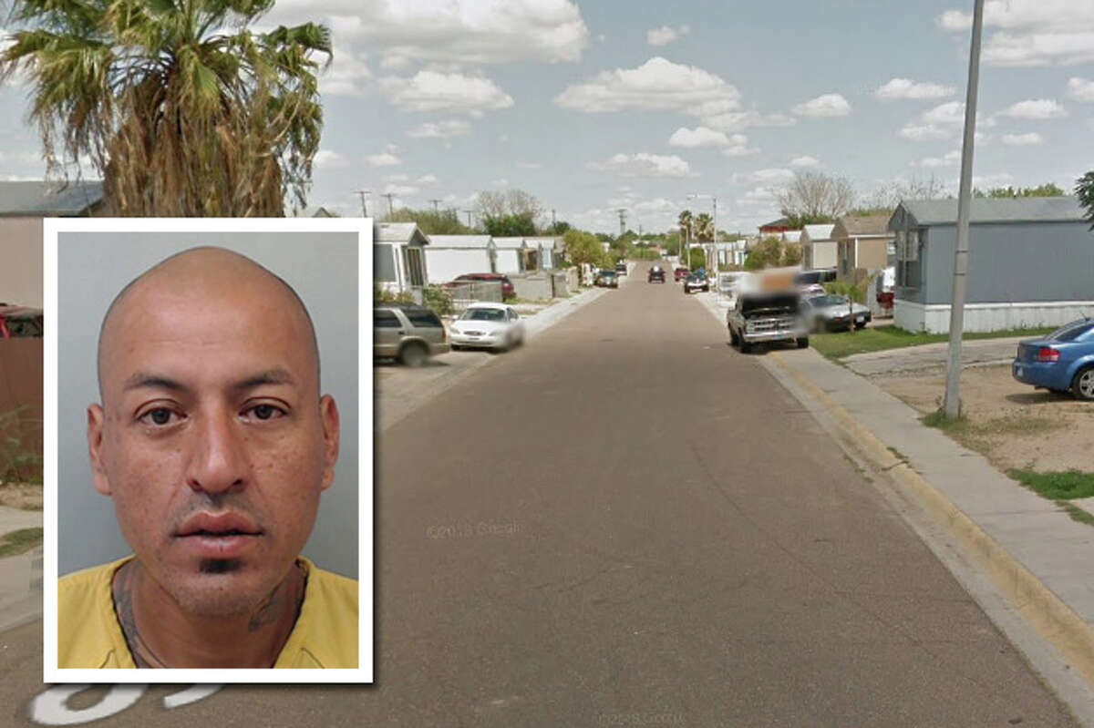 A would-be burglar offered Xanax pills to a homeowner who caught him attempting to steal a television, according to Laredo police.