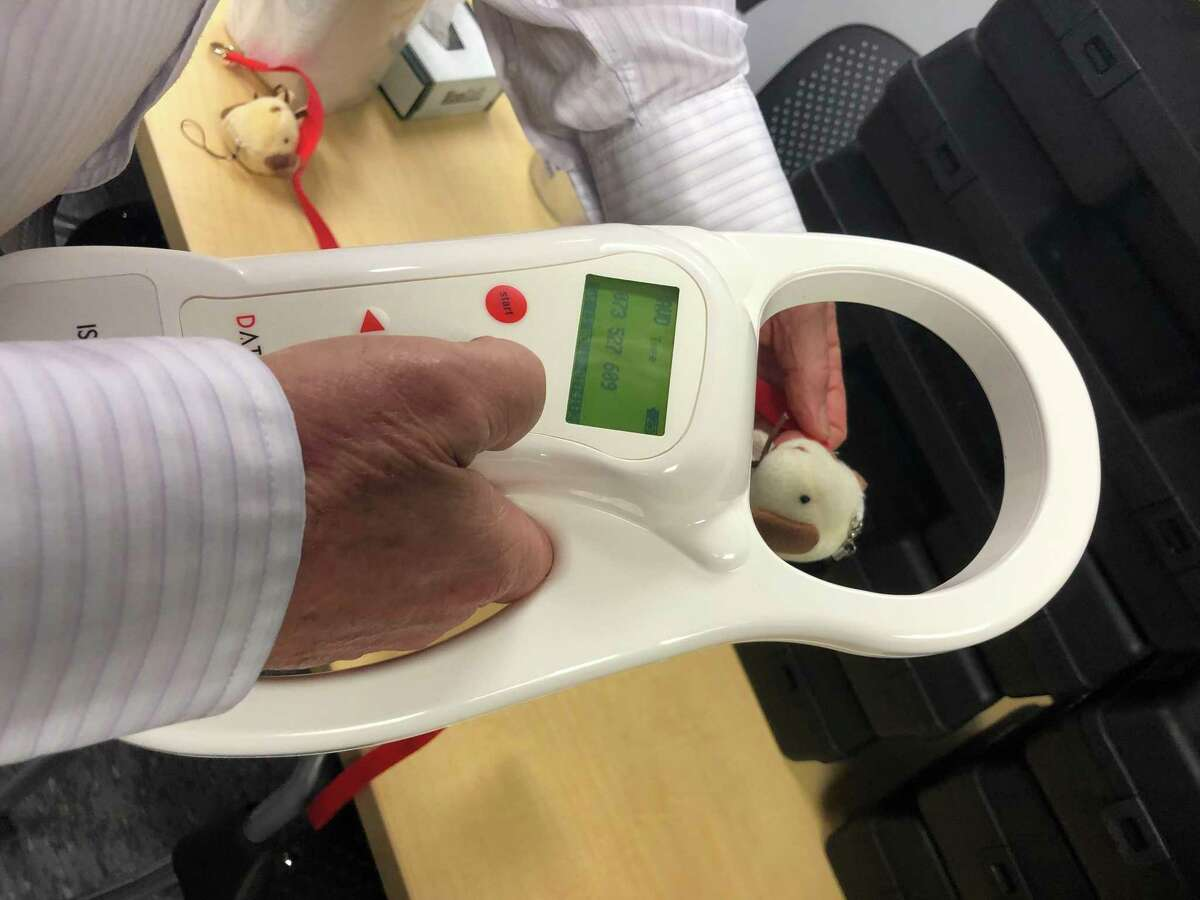 The Spring Fire Department receiveda pet microchip reader for each of its nine stations from the Harris County Animal Shelter. The department has been using the readers to reunite pets with families since early August 2019.