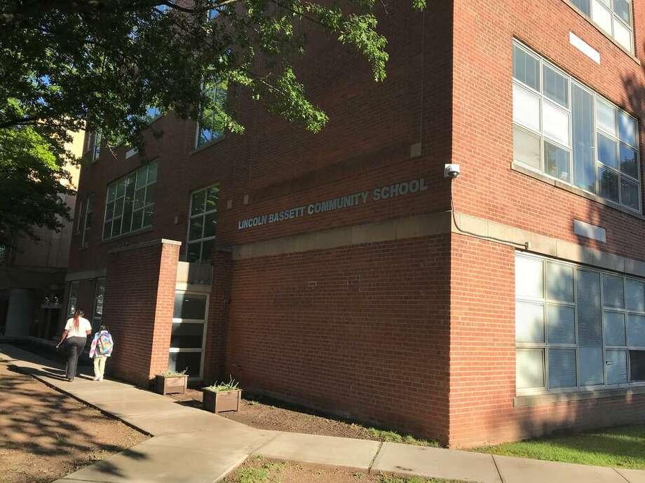 Lincoln-Bassett Community School in New Haven. Photo: Brian Zahn /Hearst Connecticut Media /