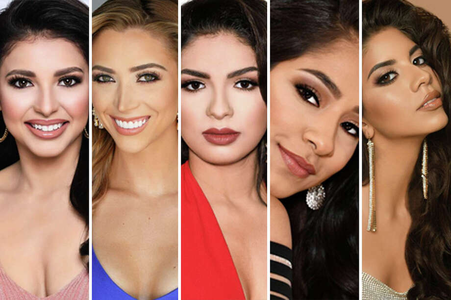 These five Laredo women will compete in the 2020 Miss Texas USA competition this weekend in Houston. Photo: Misstexasusa.com