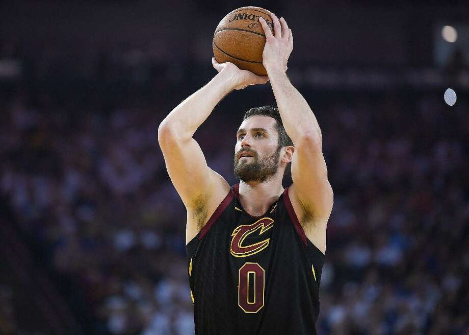 Kevin Love announced via Instagram he would be donating $100,000 to assist staff of the Cleveland Cavaliers arena. Photo: Thearon W. Henderson // Getty Images