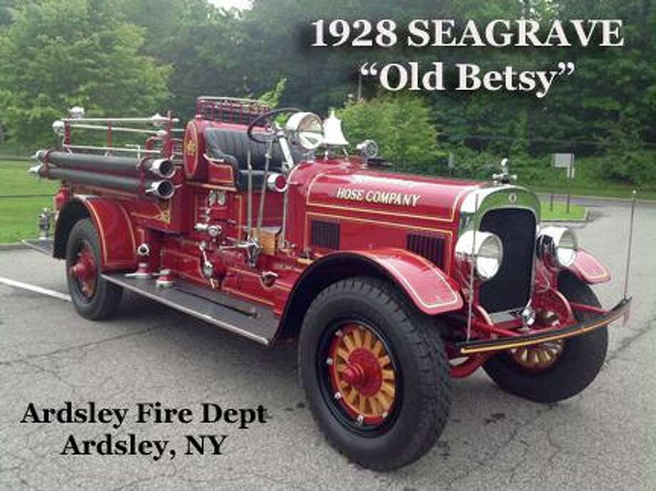 This year's show truck at the annual Engine 260 Antique Fire Apparatus Show and Muster will be a 1928 Seagrave, 'Old Betsy,' belonging to the Ardsley Fire Department in Ardsley, N.Y. Photo: Engine 260 / Contributed Photo