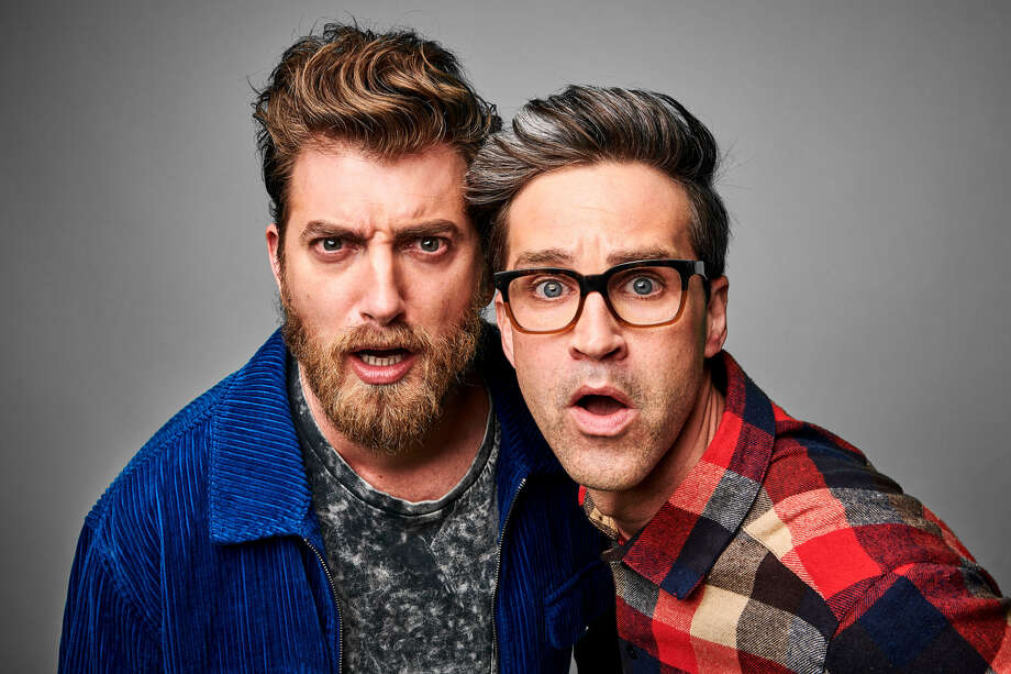 Comedy duo Rhett & Link Photo: Penguin Random House