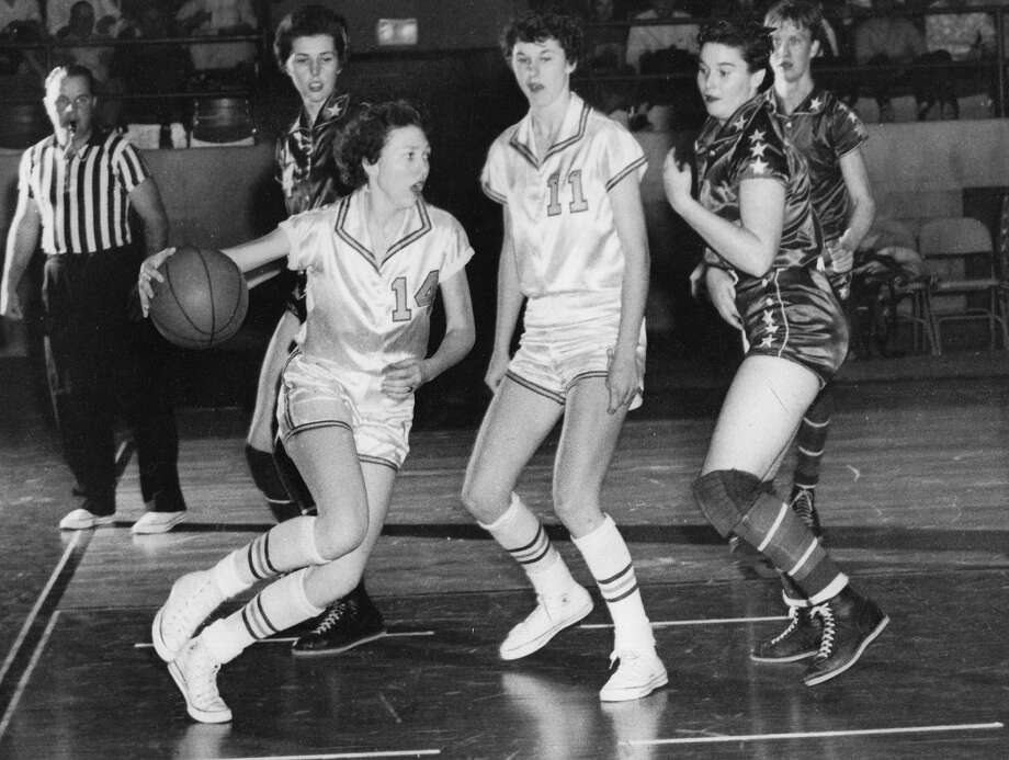 Rita Alexander went her entire four-year career with the Wayland Baptist Hutcherson Flying Queens without losing a game, being part of 104 of the program's historic 131-straight victories. Photo: Courtesy Photo/WBU Athletics
