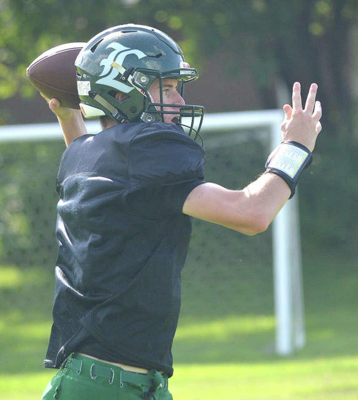 Senior Zach Keplar returns as the starting quarterback for Metro-East Lutheran