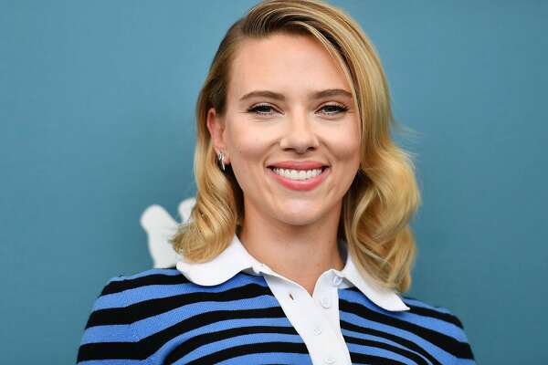 "US actress Scarlett Johansson attends a photocall on August 29, 2019 for the film ""Marriage Story"" during the 76th Venice Film Festival at Venice Lido. (Photo by Alberto PIZZOLI / AFP)ALBERTO PIZZOLI/AFP/Getty Images"