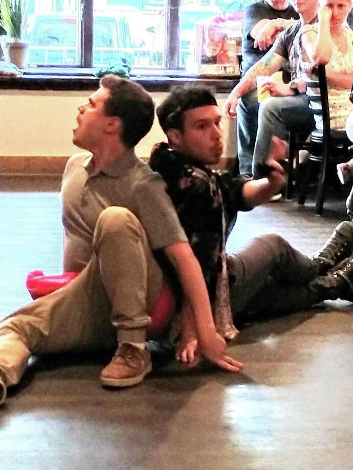 Eric Bermudez and Matthew Macca. Photo: Valley Shakespeare Festival Photo.