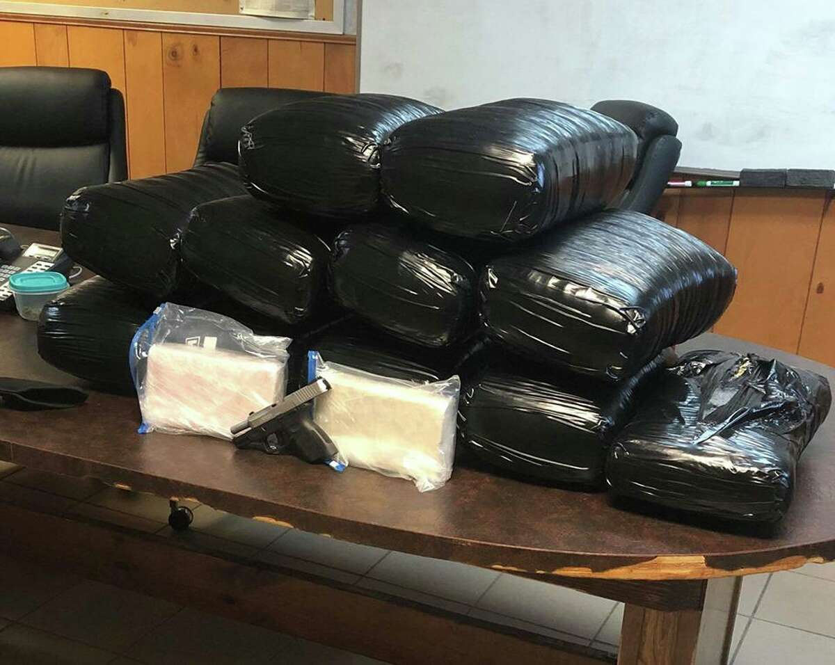 A Mississippi man was arrested after a traffic stop revealed more than 170 lbs of marijuana, 2 kilos of cocaine on Interstate 10 in Beaumont on Wednesday.