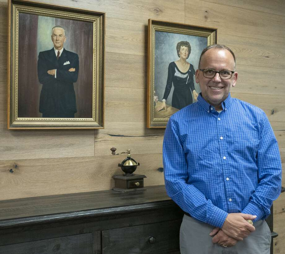 Mike Goeke, new executive director of the Mabee Foundation.08/29/19  Tim Fischer/Reporter-Telegram Photo: Tim Fischer/Midland Reporter-Telegram