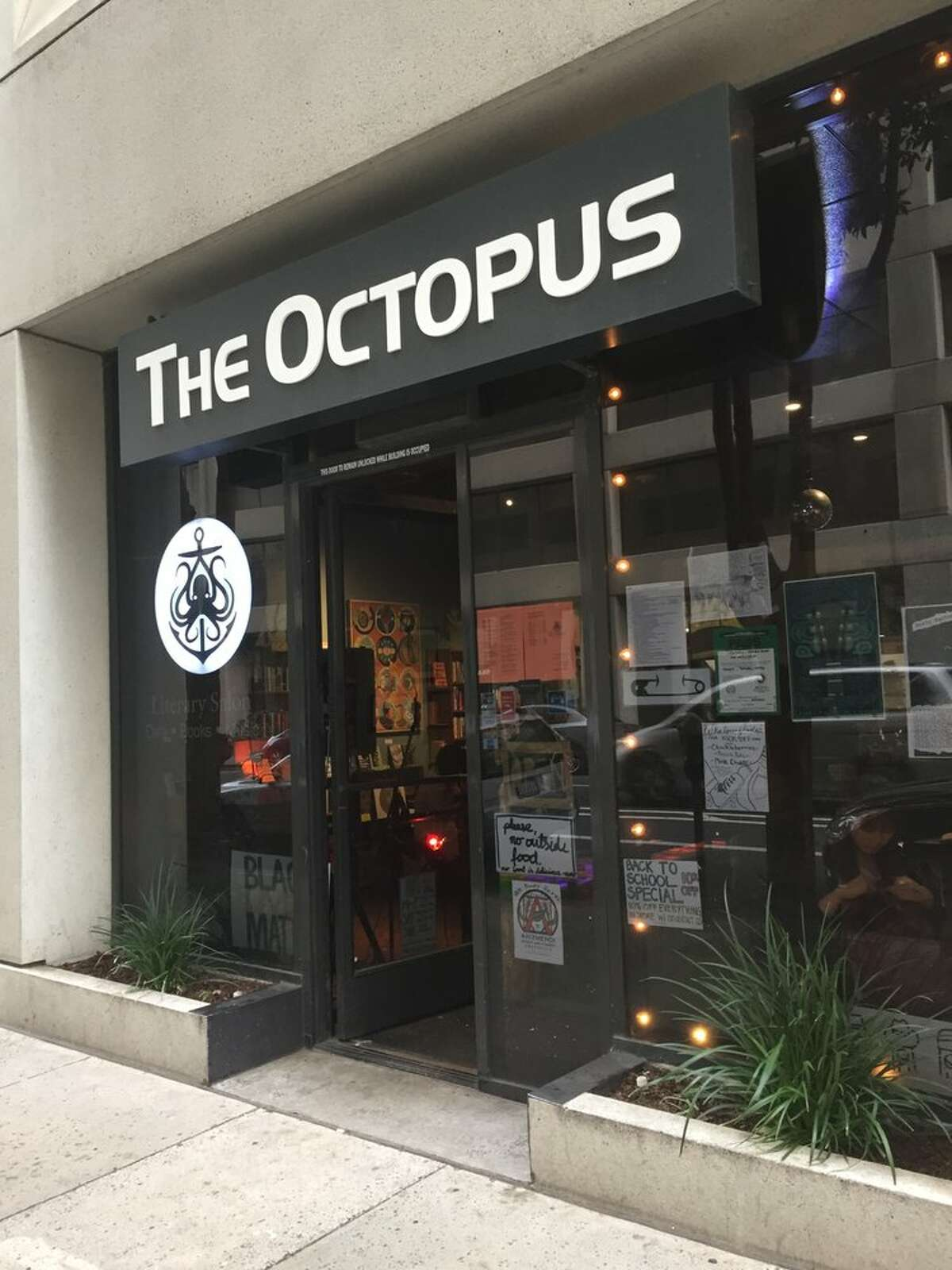 Octopus Literary Salon, a cafe/live performance venue/bookstore in Uptown Oakland, is closing its doors on August 31.