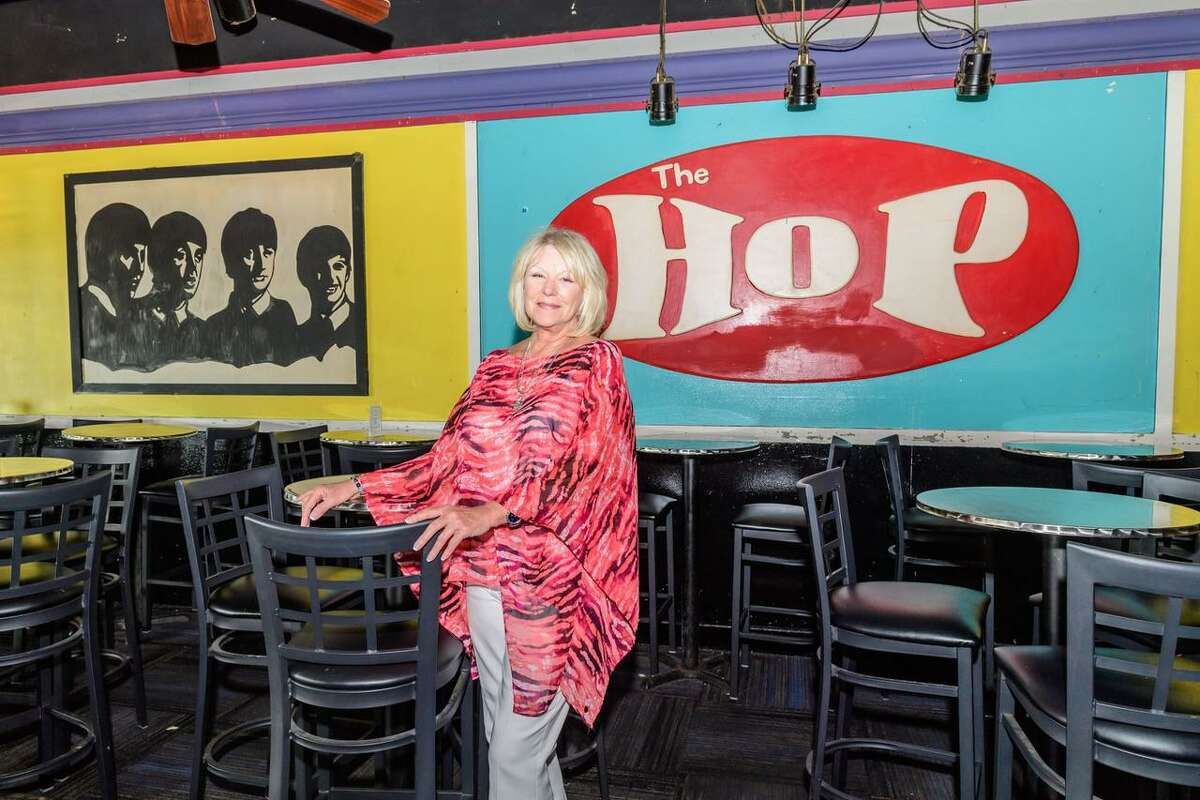 Webster resident Deborah Hollingsworth Douglas remembers playing in the building that is now The Hop Nite Club & Diner when she was young. her great-grandfather, the late Frank D. Erivin, constructed the building in 1916 as a gas station, garage, mercantile store and post office.