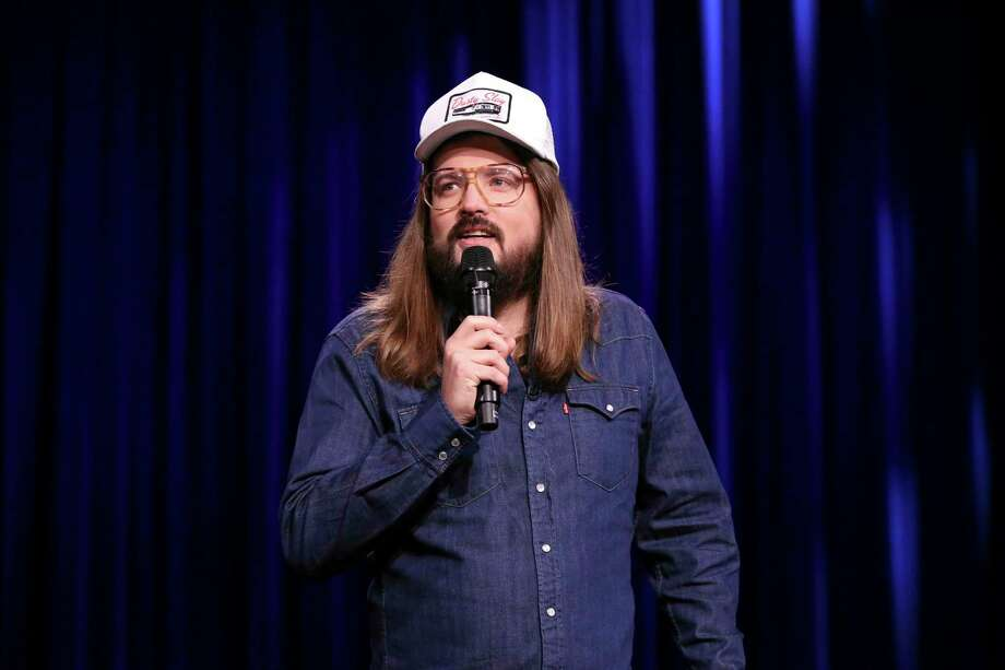 "Comedian Dusty Slay performing on ""The Tonight Show Starring Jimmy Fallon"" on July 17. He'll be at Bridgeport's Stress Factory Comedy Club Sept. 5-7. Photo: Andrew Lipovsky / NBC / Getty Images / 2019 NBCUniversal Media, LLC"